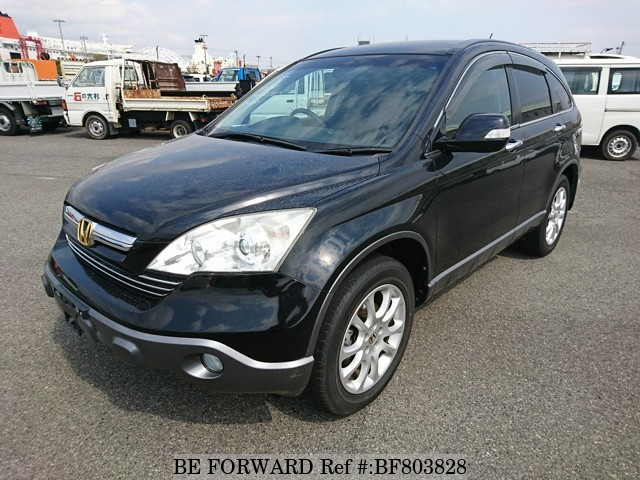 A used 2008 Honda CR-V from online used car exporter BE FORWARD.