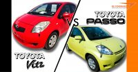 Toyota Vitz vs. Toyota Passo: Comeback of the Hatchback