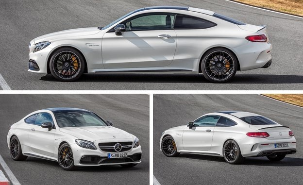 The New 2017 Mercedes Amg C63 Coupe Is A Stunning Example Of Ultra Modern Styling And Aggressiveness Quotes From Around Internet Include Looks Angry