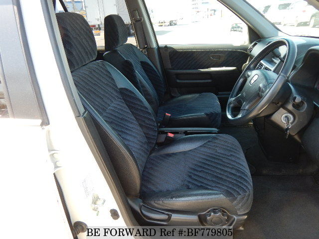The interior of a used 2003 Honda CR-V from online used car exporter BE FORWARD.