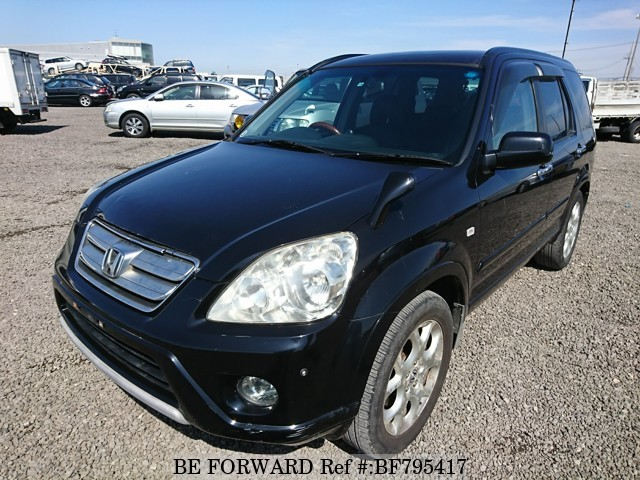 A used 2005 Honda CR-V from online used car exporter BE FORWARD.