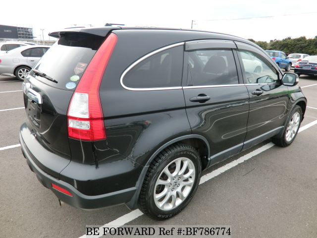 The rear of a used 2007 Honda CR-V from online used car exporter BE FORWARD.