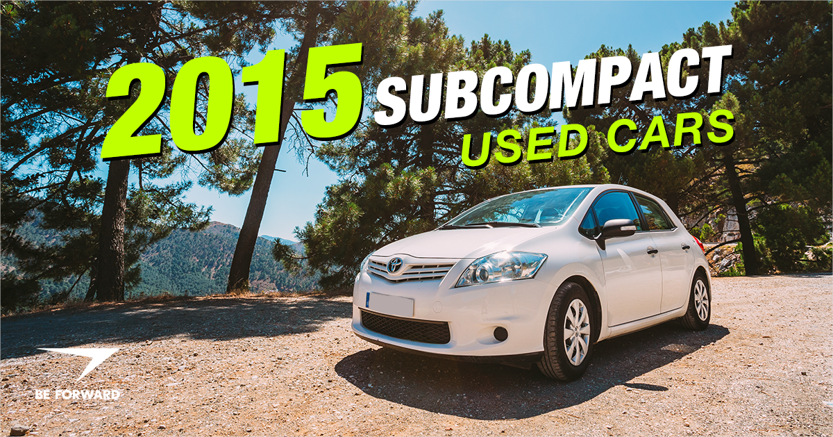 2015 Subcompact Used Cars