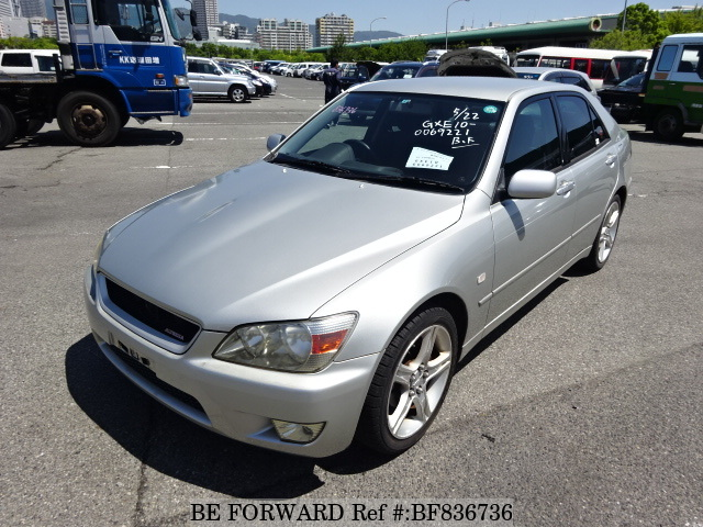 A used 2001 Toyota Altezza from online used car dealer BE FORWARD.