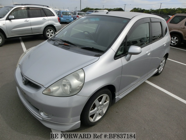 A used 2003 Honda Fit from online used car exporter BE FORWARD.