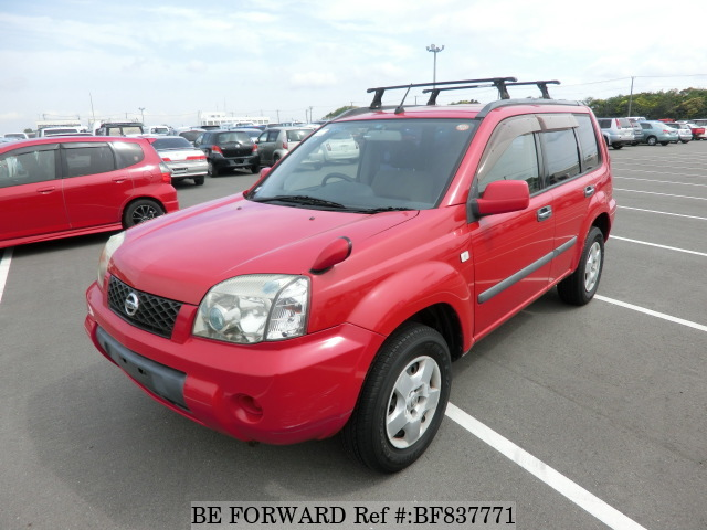 A used 2003 Nissan X-Trail from online used car exporter BE FORWARD.
