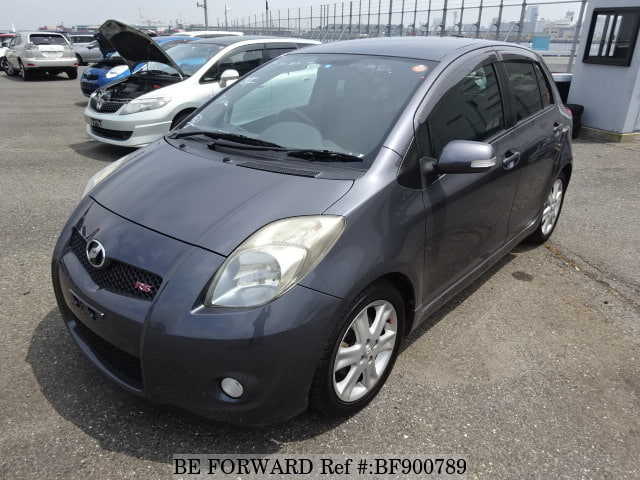 A used 2007 Toyota Vitz from online used car exporter BE FORWARD.