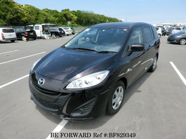 A used 2014 Mazda Premacy from online used car exporter BE FORWARD.