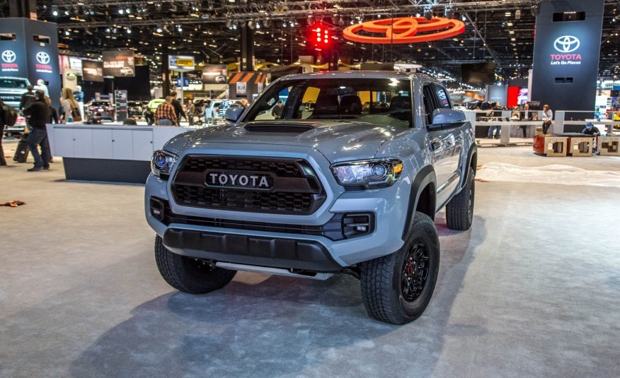 A Quick Look At The 2017 Toyota Tacoma Trd Pro Japanese Used Car