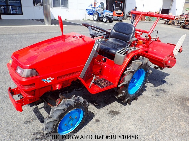 A used Yanmar tractor from online used car exporter BE FORWARD.