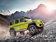 The Mercedes-Benz G500 4×4 Squared: The Baddest Benz On The Block