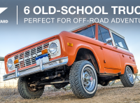 6 Old-School Trucks Perfect for Off-Road Adventures