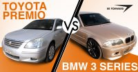 Toyota Premio vs. BMW 3 Series – Car Comparison Showdown