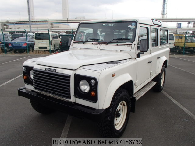 A used 1989 Land Rover Defender from online used car exporter BE FORWARD.