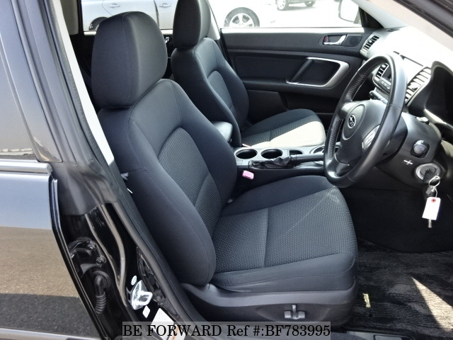 The interior of a used 2006 Subaru Outback from online used car exporter BE FORWARD.