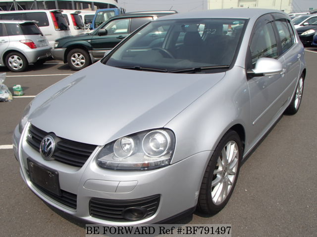A used 2007 Volkswagen Golf from online used car exporter BE FORWARD.