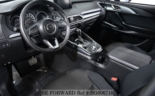 2016 MAZDA CX-9 interior drivers seat