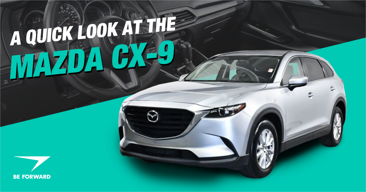 A Quick Look At The Mazda CX-9