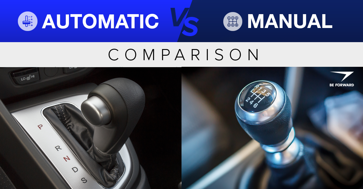 manual or automatic transmission better