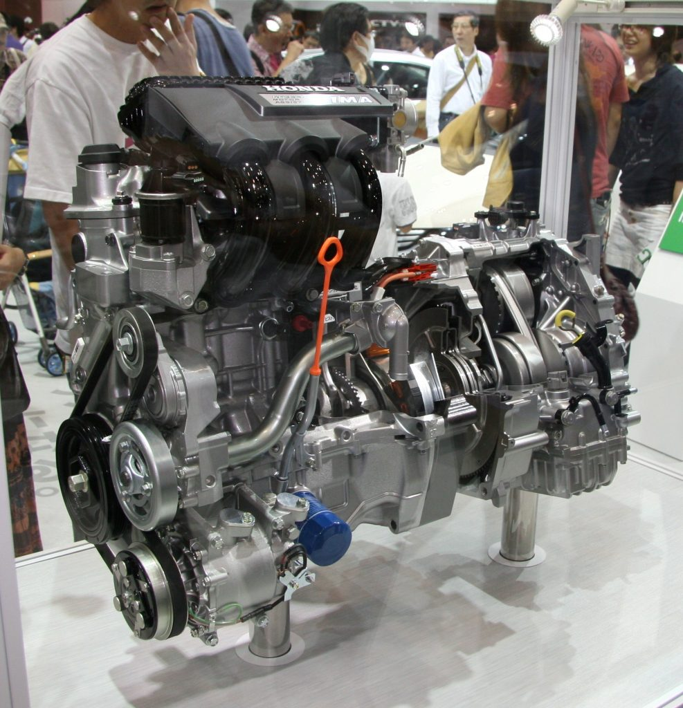 The powertrain, including transmission, of an electric car - BE FORWARD