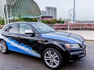 Delphi To Test Autonomous Vehicles In Singapore
