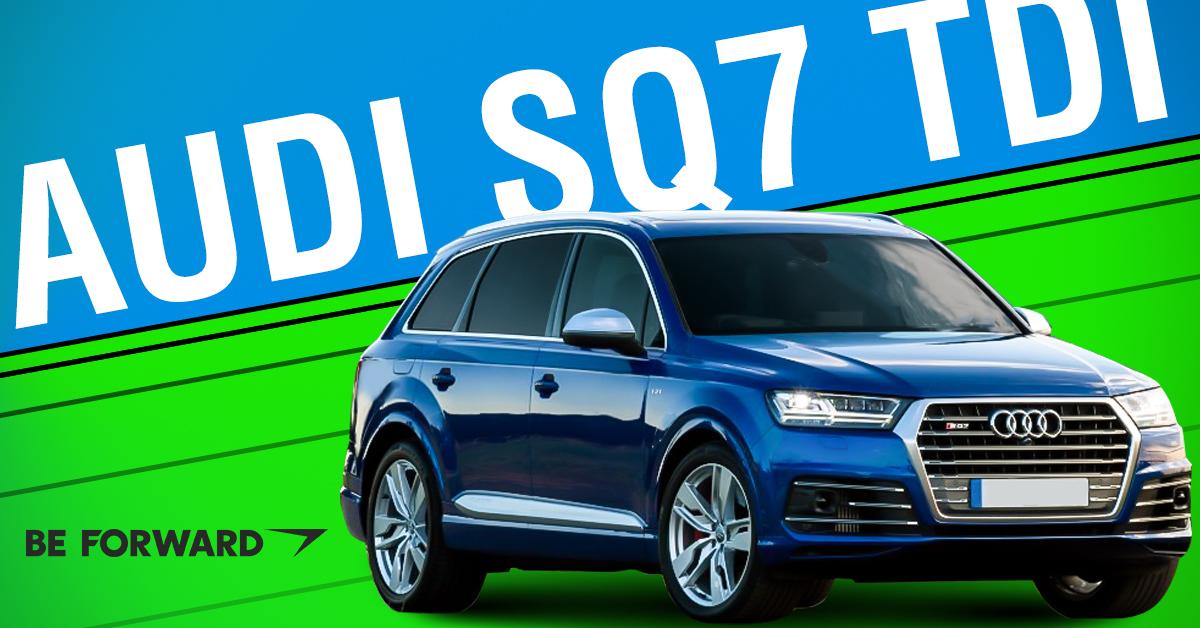 A Quick Look At The Audi SQ TDI Diesel Japanese Used Car Blog - Audi sq7
