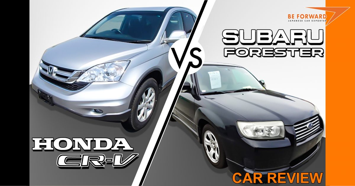 Ground clearance on honda awd crossover autos post for Honda crv vs subaru forester