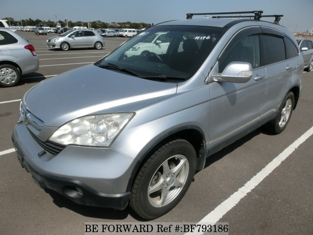 A used 2009 Honda CR-V from online used car exporter BE FORWARD.
