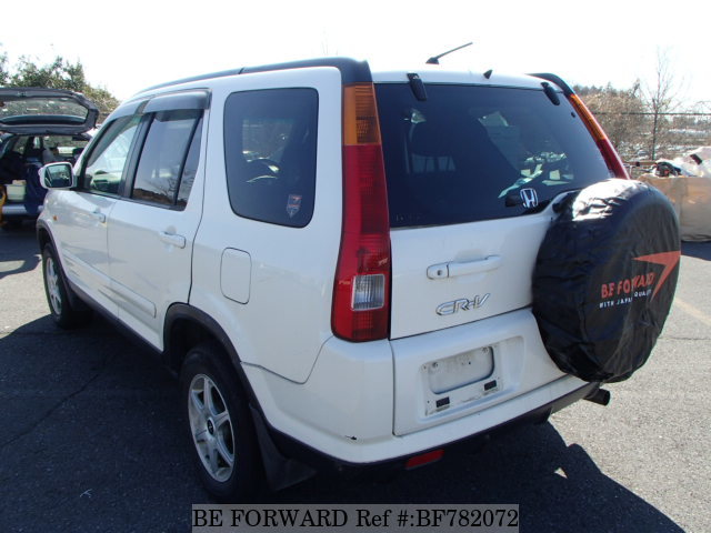 The rear of a used 2003 Honda CR-V from online used car exporter BE FORWARD.