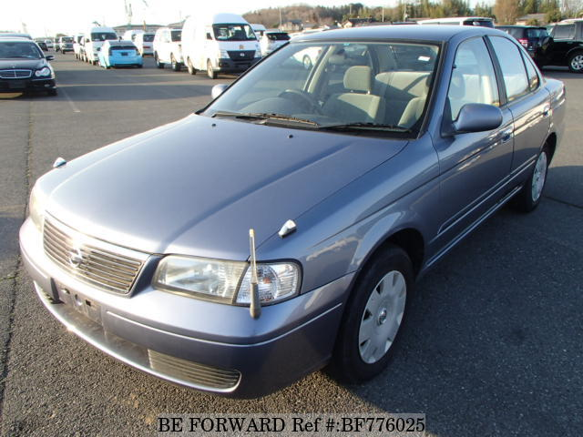 A used 2003 Nissan Sunny from online used car exporter BE FORWARD.
