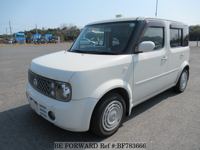 A used 2007 Nissan Cube from online used car exporter BE FORWARD.