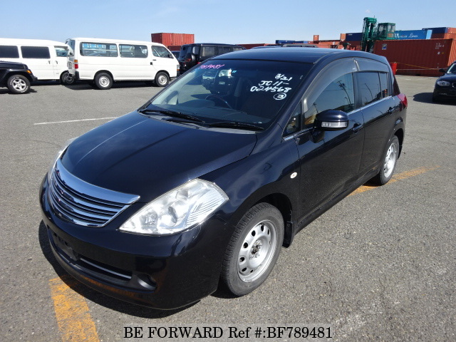 A used 2007 Nissan Tiida from online used car exporter BE FORWARD.
