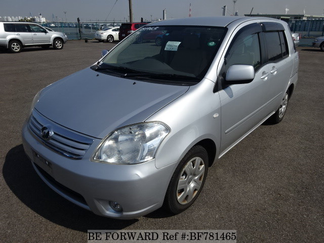 A used 2007 Toyota Raum from online used car exporter BE FORWARD.