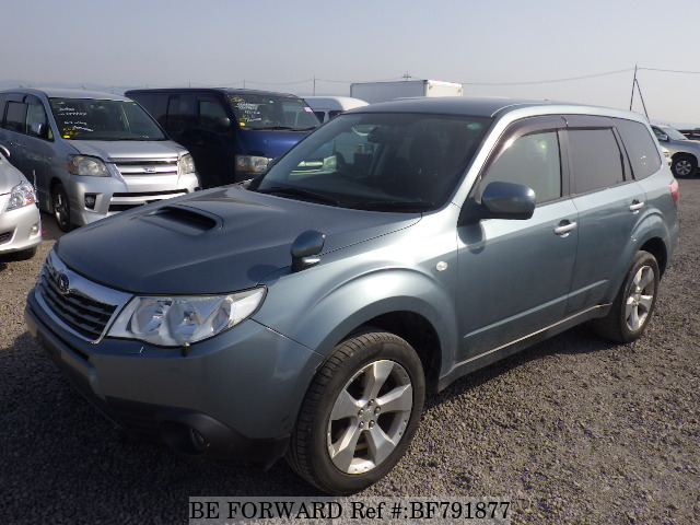 A used 2008 Subaru Forester from online used car exporter BE FORWARD.