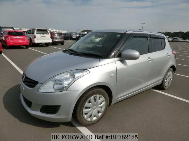 A used 2013 Suzuki Swift from online used car exporter BE FORWARD.
