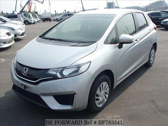 A used 2016 Honda Fit from online used car exporter BE FORWARD.