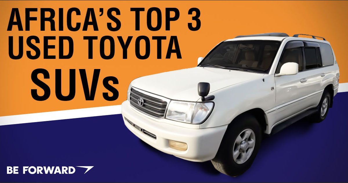 Top 3 Toyota SUVs for Africa