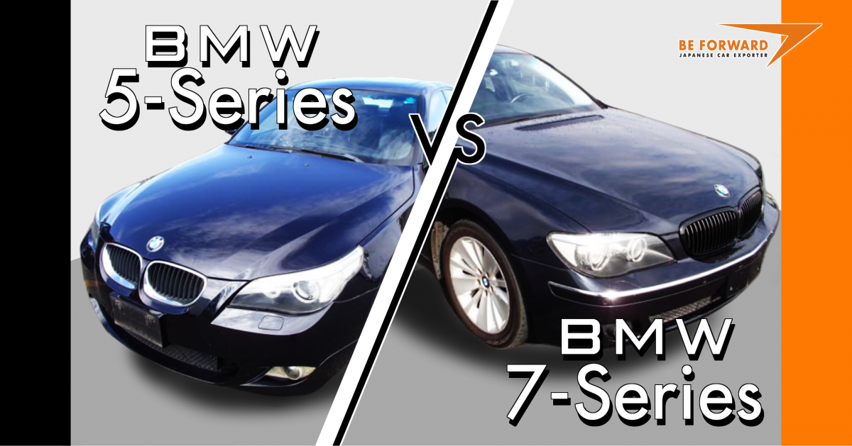 2005 BMW 5-Series vs. 2005 BMW 7-Series: Which is Best?