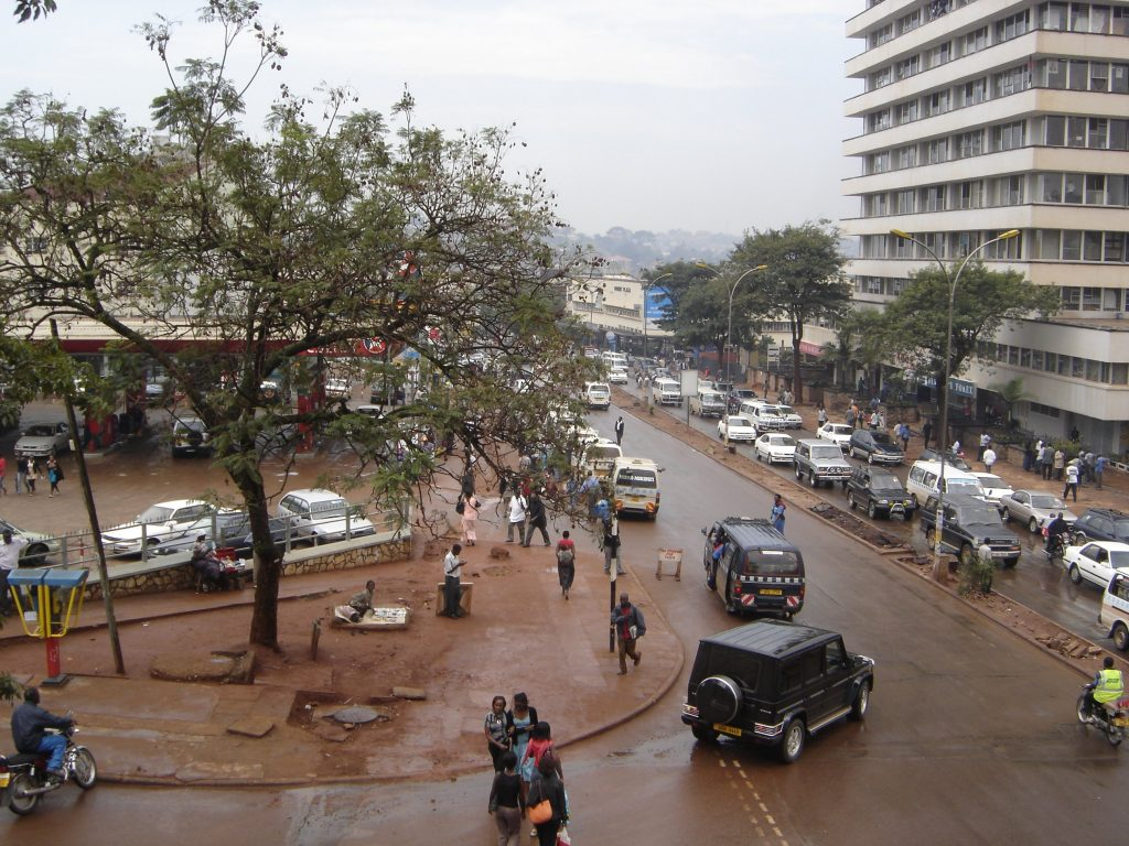 Downtown Kampala in Uganda - BE FORWARD