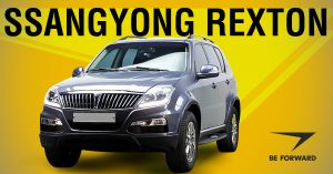 SsangYong Rexton - BE FORWARD
