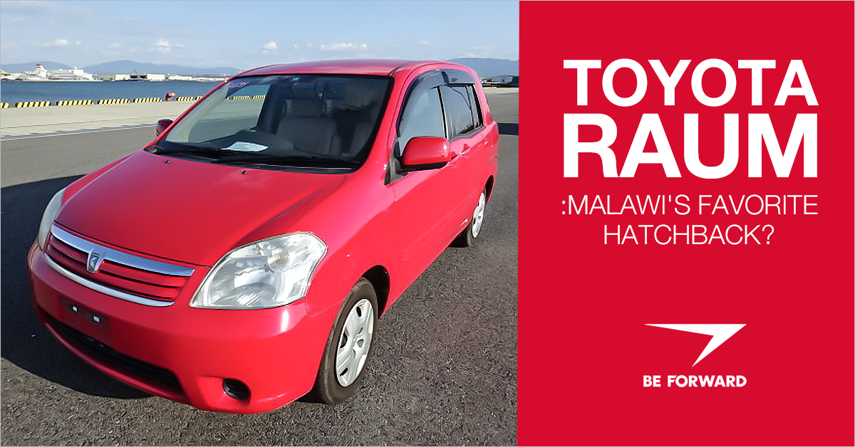 toyota raum best malawi hatchback from BE FORWARD