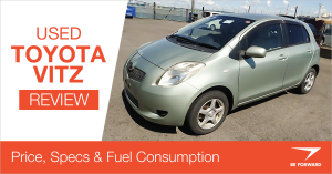 used toyota vitz review