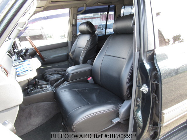 The interior of a used 1997 Toyota Land Cruiser from online used car exporter BE FORWARD.