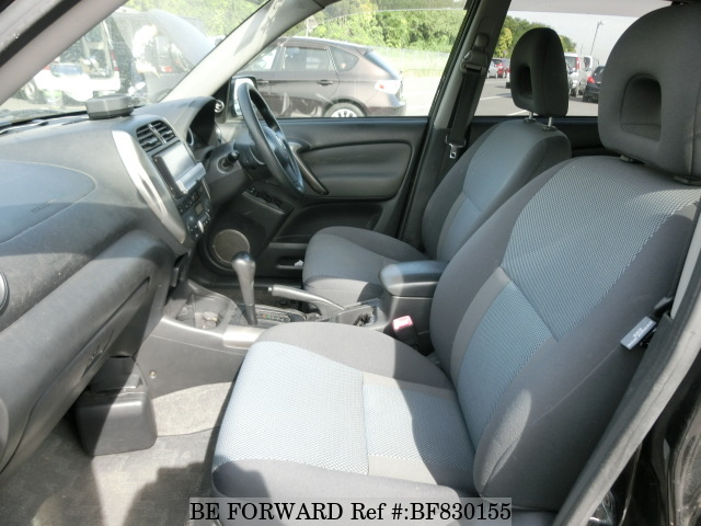 The interior of a used 2001 Toyota RAV4 from online used car exporter BE FORWARD.
