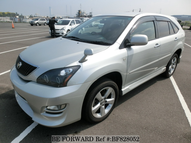 A used Toyota Harrier from online used car exporter BE FORWARD.
