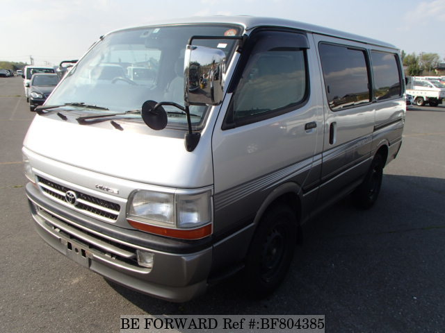 A used 2003 Toyota HiAce Van from online used car exporter BE FORWARD.