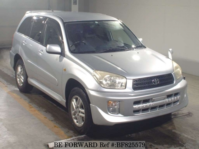A used 2003 Toyota RAV4 from online used car exporter BE FORWARD.