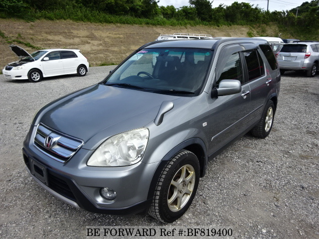 A used 2004 Honda CR-V from online used car exporter BE FORWARD.