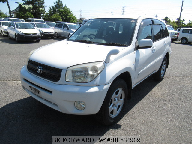 A used 2004 Toyota RAV4 from online used car exporter BE FORWARD.