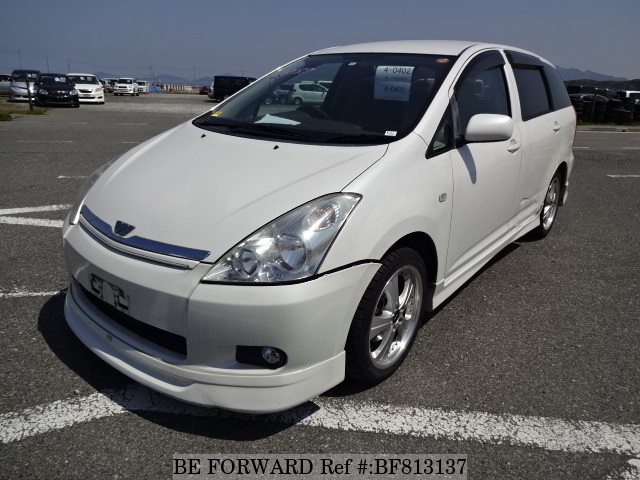 A used 2004 Toyota Wish from online used Japanese cars exporter BE FORWARD.